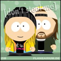 Jay and Silent Bob by planearium