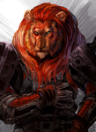 Lion Warrior by Pennawings