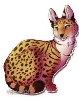 Serval by Plasticss