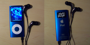 I got a new ipod by GingaAkam