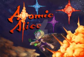 Atomic Alice Cover Art by MakeGamesHappen
