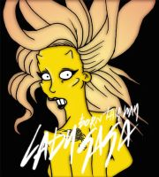 Lady Gaga Born This Way color by orl-graphics