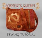 Sewing Tutorial: The Scientist's Satchel by SewDesuNe