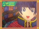 Fire Emblem Ike's Cute Smile by ayumuobessed