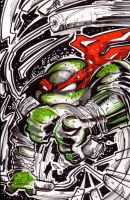 TMNT CONVENTION SKETCH MIKEY by U-D0NT-KN0W-ME
