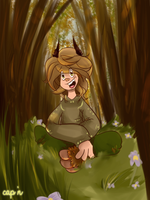 Mah spirit of the forest by SupCapn