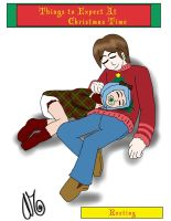 Things To Expect At Christmas Time: Resting by AbeSedecim