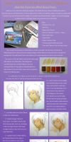 Watercolour Tutorial02: Hibari by milostudio