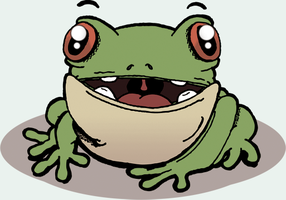 Just a frog by reigneous