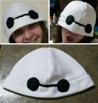 Baymax Fleece Hat by chkimbrough
