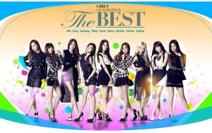 Snsd The Best Ver.3 by Jover-Design