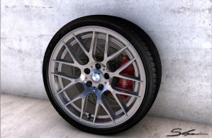 Bmw Wheel by Artsoni3D