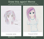 draw that again meme by colorfulcutecookie
