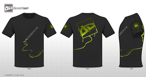 T-Shirt Contest black 02 by VK94