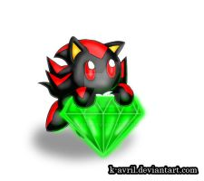 Shadow Chao by k-avril