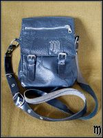 Leather bag - Front. by ArtifexObscurus