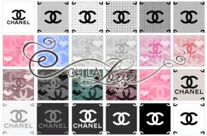 Chanel style patterns by ohlalove