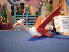 Latias figure by ChibiLinda