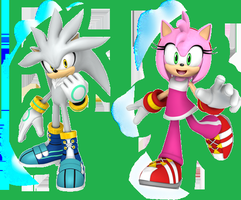 Silvamy Sonic Free Riders by SweetGems