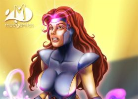 Jean Grey by Arqueart