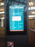 failed bus departures board by ProjektGoteborg