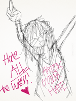 crey - hate ALL the haters! by MikuGlorishaVC01
