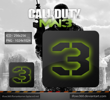 Call of Duty MW3 Icons by iFoXx360