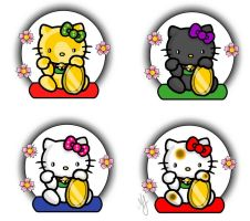 Maneki Kitty Tattoo Flash by DiruLiCiouS
