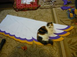 Loftwing cosplay WIP - Wings 2 by LilleahWest