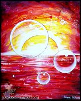 Bubble Sunset by Kadajo