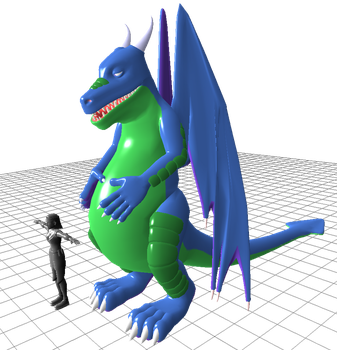 New Dragon Form plastic update by ImaginaryZ