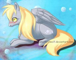 Derpy hooves by amathystwolf