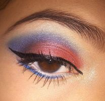 spiderman eyeshadow by KLRainbow