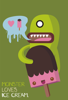 monster love ice cream by FailureTalent