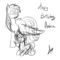 Happy Birthday Andrea by Mesap