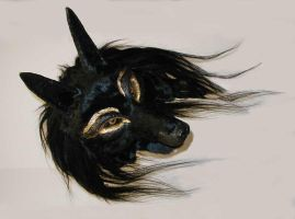 Anubis Mask - Angle Photo by Foxfeather248