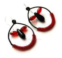 Gothic earrings by OlgaC