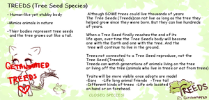 NEW SPECIES:  TREEDS  (TREE SEED) by Getanimated