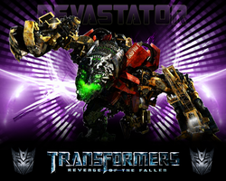 Transformers 2 Devastator by CrossDominatriX5