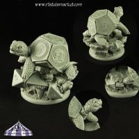 Dice Turtle by RistulsMarket