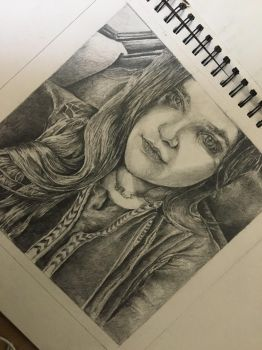 Pencil sketch  by AnoushayKhan