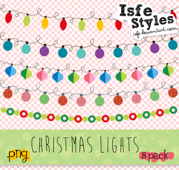 Christmas Lights pack by Isfe