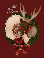 Reindeers Are Better Than People by Foxbride