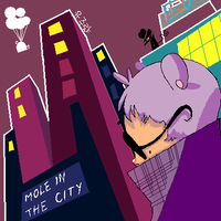 Mole in the City by monkeyoo