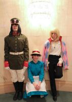 Howl's Moving Castle at Anime Central by thatbloodypirate