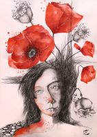 Poppies With Freckles by Ralu77