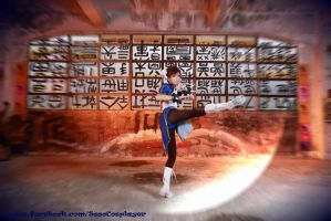 Street fighter Chun Li Cosplay (2) by multipack223