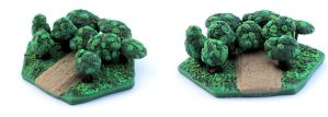 3D Settlers of Catan Board Piece - Forest by Bon-AppetEats