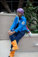 Trunks Waiting by R-Legend