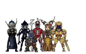 bandora gang with lord zedd by allanimerules1